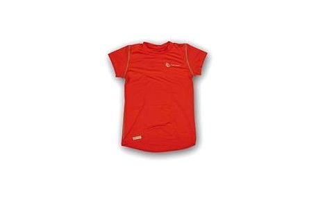 Sensor Coolmax Fresh K's t-Shirt Red, červená, 120