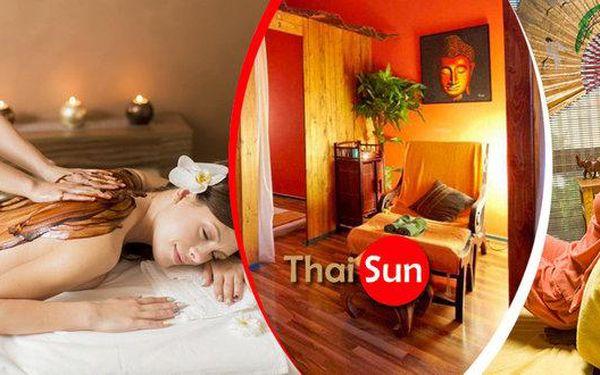 Thajské masáže v Thai Sun v centru Prahy