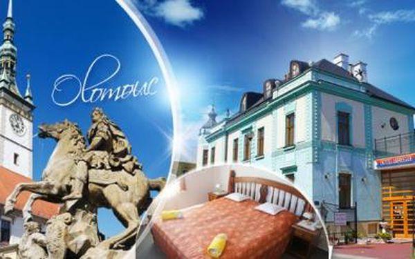Luxusní hotel Lafayette**** Olomouc! Víkendový pobyt na 3 dny pro DVA se SNÍDANĚMI a SLEVAMI na výlety!