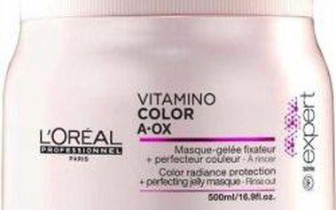 Maska pro ochranu barvy a hloubkovou regeneraci Loreal Professionnel Série Expert Vitamino Color AOX maska 500 ml