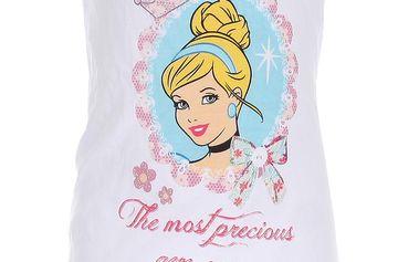 Dívčí šaty Popelka - bílé