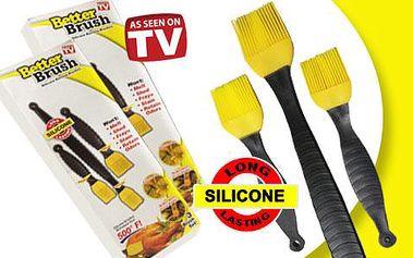 Silikonové mašlovačky sada 3 kusy - Better Brush