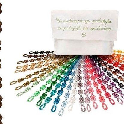 2x trendy barevný náramek