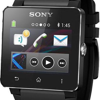 Sony SW2 Smart Watch Black