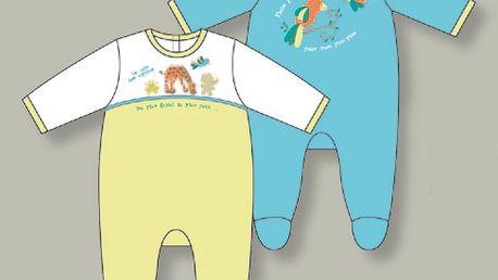 Kojenecké dupačky O´MOI Bébé, modré