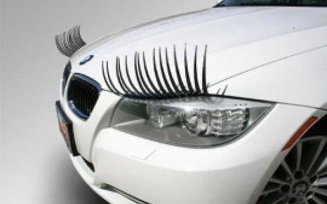 Řasy na auto Lady Lights - ozdobte své auto originálním doplňkem!