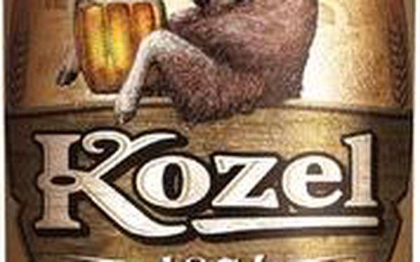 Velkopopovický Kozel Velkopopovický Kozel Pivo výčepní světlé plechovka 500ml
