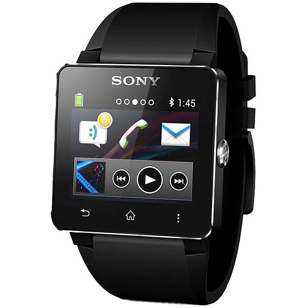 Sony SW2 Smart Watch Black