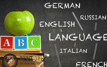 Angličtina, němčina, francouzština: týdenní či 3měsíční kurz