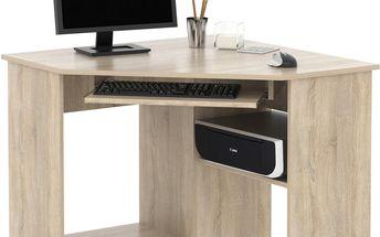 MB Domus PC stůl rohový SMART 1, dub sonoma