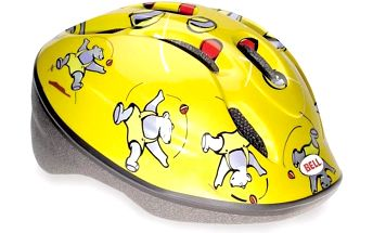 Bell Zoom Yellow Bears XS/S (48-52 cm)