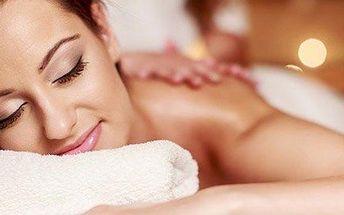 Relaxační aroma masáž v beauty studiu Oliva
