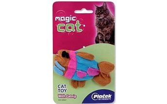 Magic Cat hračka Catnip plush rybka