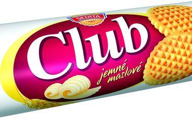 Sedita Sedita Club Máslové sušenky 140 g