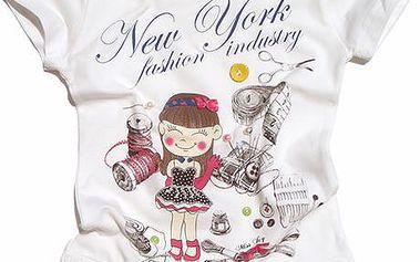 Gelati Dětské tričko, bílé