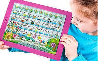 Dětský tablet Pafíkův šikulka růžový