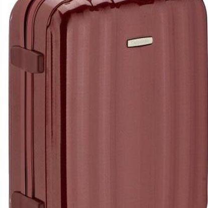 Palubní zavazadlo Samsonite Cubelite Upright 54/19 červená