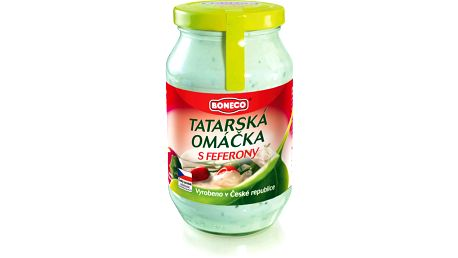 Boneco Boneco Tatarská omáčka s feferony 220ml