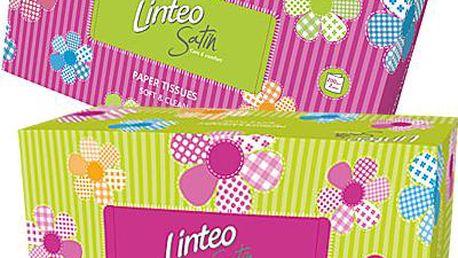 Papírové kapesníky BOX 200 ks, bílé, 2-vrstvé
