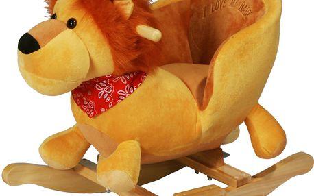 Houpací křeslo - lvíček