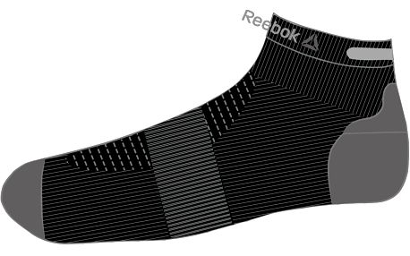 Reebok OS Run U Ank Sock