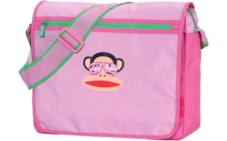 Taška Paul Frank Julius Messenger Pink