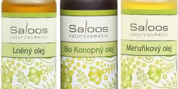 Tělové rostlinné oleje Saloos 50 ml!