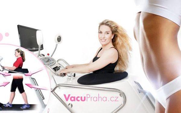 5x 40 min. VacuShape + 5x 20min. lymfodrenáž! Celkem 5 hodin procedur pro spalování tuků a redukci celulitidy!