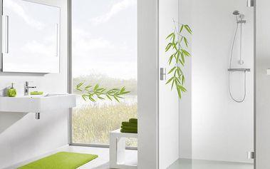 Samolepka na sprchový kout Bamboo Green