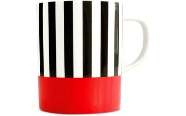 Hrnek Remember Black Stripes, 330 ml