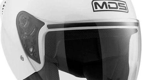 MDS přilba G240 bílá vel.M (57-58cm)