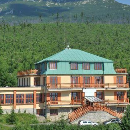 Vysoké Tatry s polopenzí a pojištěním