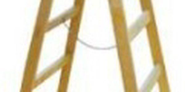 Štafle malířské 5 příček 1,7m dřevěné