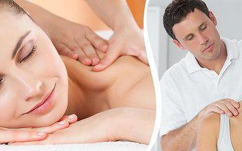 Indická masáž hlavy nebo klasická masáž šíje a zad