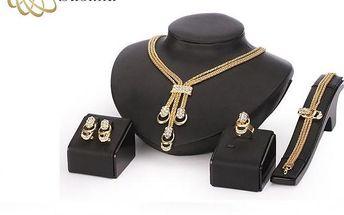 Souprava pozlacených šperků Victoria de Bastilla!