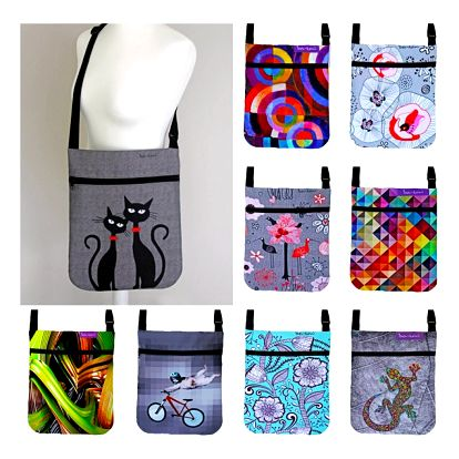 Barevné kabelky Bertoni Joy s originálními motivy!