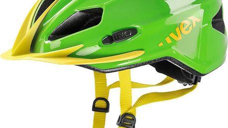 UVEX Quatro junior green-yellow