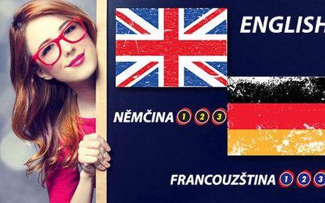 Online kurzy angličtiny, němčiny nebo francouzštiny