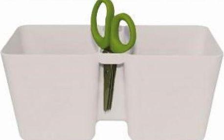 Květináč na bylinky Twins Cube i s nůžkami!