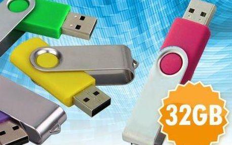 32GB usb flash disk s poštovným zdarma