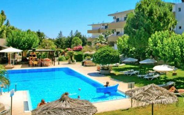 Řecko, oblast Rhodos, doprava letecky, snídaně, ubytování v 3* hotelu na 11 dní