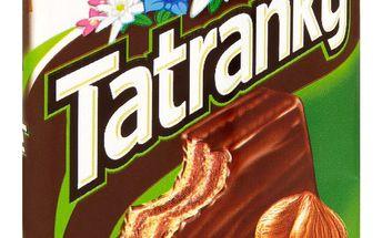 Sedita Sedita Tatranky Oplatky s lískooříškovou náplní s mléčno-kakaovou polevou 30g