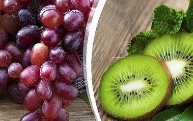 Vypěstujte si sami víno nebo kiwi. 3 kusy sazenic vína nebo kiwi ve velikosti do 50 cm.