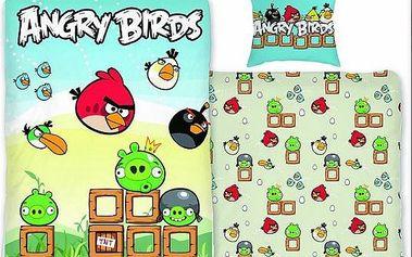 Bavlněné povlečení Angry Birds!