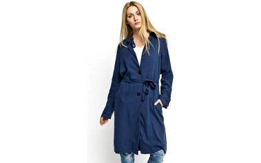 Lehký dámský kabát kolekce Vila