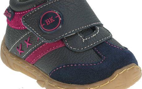 Dívčí kotníčkové boty - šedé