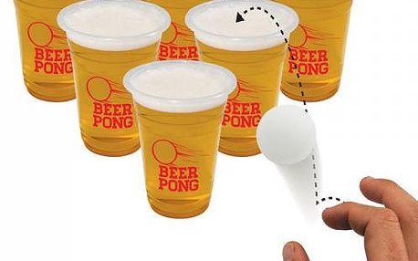 Beer Pong - jedna z nejpopulárnějších amerických alkoholových her!