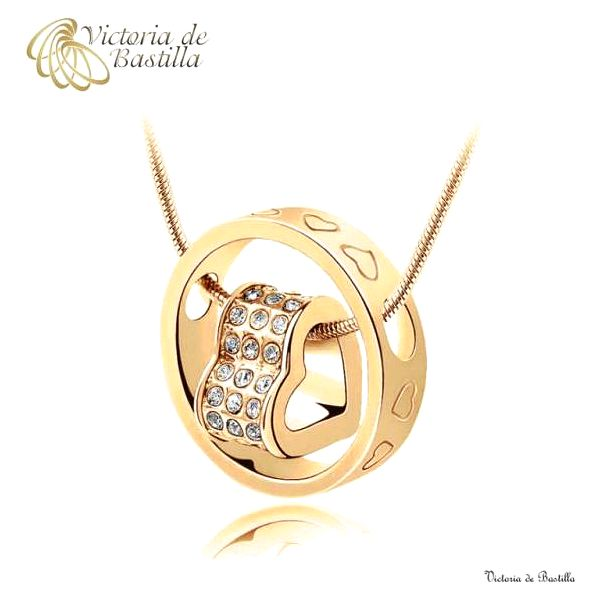 Luxusní srdcový náhrdelník Victoria de Bastilla!