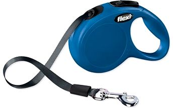 Flexi Classic páskové vodítko XS 3 m modré