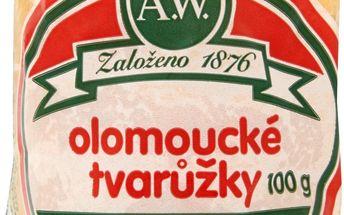 A.W. A.W. Olomoucké tvarůžky malé 100g
